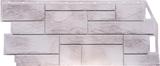 Фасадная панель FineBer Камень природный Жемчужный (1085х447мм)