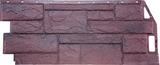 Фасадная панель (цокольный сайдинг) fineber камень природный серо-коричневый (1085х447мм)
