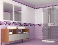 Панель ПВХ Unique 2,7х0,25м Капли росы фиолетовый
