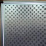 Металлический кассетный потолок с кассетой Албес Tegular 45° Металлик перфорированная d=1,5мм 595х595мм