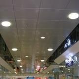 Металлический кассетный потолок с кассетой 600х600мм Cesal 3306 Белый Матовый (закрытая система)