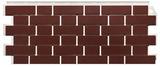 Фасадная панель FineBer Кирпич облицовочный Britt Бордовый (1130х463мм)