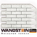 Фасадная панель Holzplast Wandstein Кирпич Белый (795х595мм)