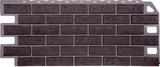 Фасадная панель (цокольный сайдинг) fineber кирпич жженый (1137х470мм)