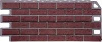 Фасадная панель FineBer Кирпич Красный (1137х470мм)