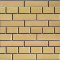 """Фасадная панель Доломит """"Кирпич"""" Желтый (1850х210мм)"""