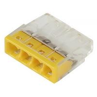 Строительно-монтажная клемма, 4 отверстия Smartbuy (SBE-pwco-4)