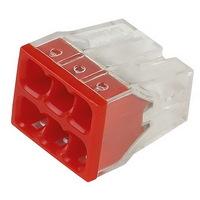 Строительно-монтажная клемма, 6 отверстий Smartbuy (SBE-pwco-6)