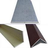 Универсальный уголок ПВХ ламинированный 2,7м Dekostar под цвет панели