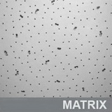 Потолок типа Армстронг с плитой Матрикс / Matrix (Китай) 600х600х7мм