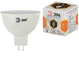 Лампа светодиодная Эра GU5.3 MR16 8Вт 2700K Теплый свет LED MR16-8W-827-GU5.3 Матовая колба