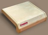 Подоконник ПВХ Danke Standard Мрамор Матовый. Ширина 15см (150мм)