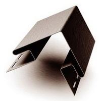 Наружный угол Коричневый для сайдинга, софита и блок-хауса (длина-3м)