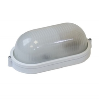 Светильник IP54 под лампу с цоколем Е27 Эра НБП 04-60-001 настенно-потолочный 212х105х80мм