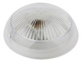 Светильник IP54 под лампу с цоколем Е27 Эра НБП 06-60-001 настенно-потолочный 220х220х105мм