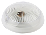 Светильник IP54 под лампу с цоколем Е27 Эра НБП 06-60-011 антивандальный (прозрачный) настенно-потолочный 220х220х105мм