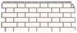 Фасадная панель (цокольный сайдинг) fineber кирпич облицовочный белый (1130х463мм)