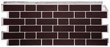 Фасадная панель (цокольный сайдинг) fineber кирпич облицовочный britt (1130х463мм)