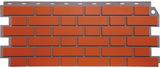 Фасадная панель (цокольный сайдинг) fineber кирпич облицовочный керамический (1130х463мм)