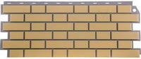 Фасадная панель FineBer Кирпич облицовочный Желтый (1130х463мм)