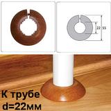"""Обвод пластиковый (ПВХ) Идеал для труб диаметром 22мм (1/2""""). 18 цветов"""