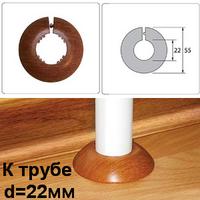 """Обвод пластиковый (ПВХ) Идеал для труб диаметром 22мм (1/2""""). 17 цветов"""