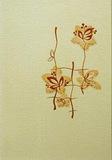 Панель ПВХ 2,7х0,25м Орхидея серебристая