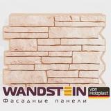 Фасадная панель Holzplast Wandstein Парфир Светло-бежевый (795х595мм)