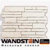 Фасадная панель Holzplast Wandstein Парфир Белый (795х595мм)