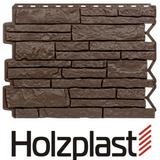 Фасадная панель Holzplast Wandstein Парфир Темно-коричневый (795х595мм)