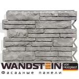 Фасадная панель Holzplast Wandstein Парфир Серый жемчуг (795х595мм)