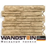 Фасадная панель Holzplast Wandstein Парфир Золотой песок (795х595мм)