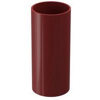 Труба водосточная 85мм Docke Premium Красная (Гранат), длина-3метра