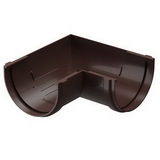 Угол желоба 90° Docke Premium Коричневый (Шоколад)
