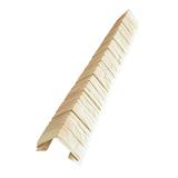 Наружный фактурный угол Доломит Скалистый Риф Премиум Умбра (длина-1м)