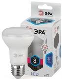 Светодиодная (LED) Лампа Е27 R63 Рефлектор 8Вт 640Лм 4000К Белый свет Эра LED R63-8W-840-E27 Матовая колба