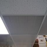 Решетка ПВХ вентиляционная Сота (Апла) для потолка армстронг 600х600х8мм (ячейка 15х15мм)