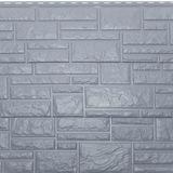 """Фасадная панель Доломит """"RockVin"""" Серо-голубой (3000х260мм)"""