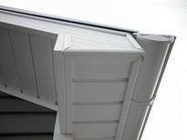 Софиты Доломит белые и коричневые для подшивки крыши