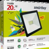 Прожектор светодиодный IP65 20Вт 4100К Белый свет 120х90х25мм FL SMD Smartbuy-20W/4100K/IP65 (SBL-FLSMD-20-41K)