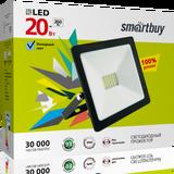 Прожектор светодиодный IP65 20Вт 6500К Холодный свет 120х90х25мм FL SMD Smartbuy-20W/6500K/IP65 (SBL-FLSMD-20-65K)