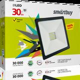 Прожектор светодиодный IP65 30Вт 4100К Белый свет 160х110х28мм FL SMD Smartbuy-30W/4100K/IP65 (SBL-FLSMD-30-41K)