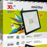 Прожектор светодиодный IP65 30Вт 6500К Холодный свет 160х110х28мм FL SMD Smartbuy-30W/6500K/IP65 (SBL-FLSMD-30-65K)