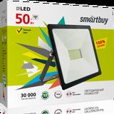 Прожектор светодиодный IP65 50Вт 4100К Белый свет 210х140х30мм FL SMD Smartbuy-50W/4100K/IP65 (SBL-FLSMD-50-41K)