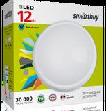 Светильник светодиодный накладной IP65 12Вт 4000К Белый свет D160х41мм Круг HP Smartbuy-12W/4000K/IP65 (SBL-HP-12W-4K)