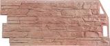 Фасадная панель FineBer Скала Терракотовый (1094х459мм)
