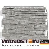 Фасадная панель Holzplast Wandstein Скол Серый жемчуг (795х595мм)