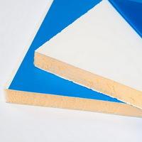 Сэндвич панель ПВХ (утепленный откос на окна) 3000х300х10мм, Белый матовый (Нарезка)