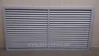 Решетка радиаторная ПВХ 1200х600мм Серая