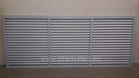 Решетка радиаторная ПВХ 1500х600мм Серая